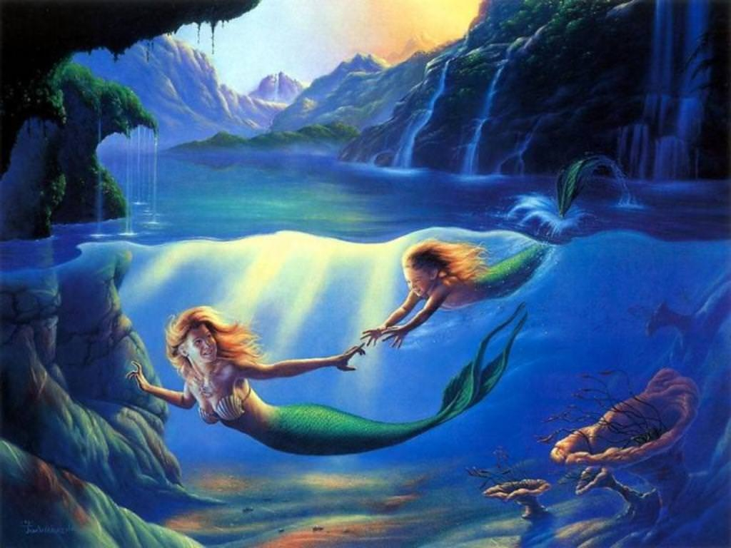 Stunning Mermaid Wallpaper