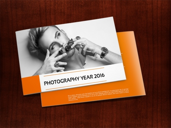 Stylish Photography Portfolio Presentation