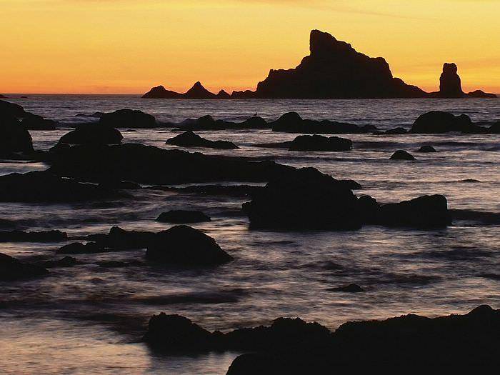 Sunrise in National Park Washington Wallpaper