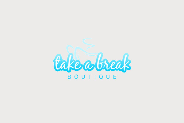 Take a Break Coffee Cup Logo