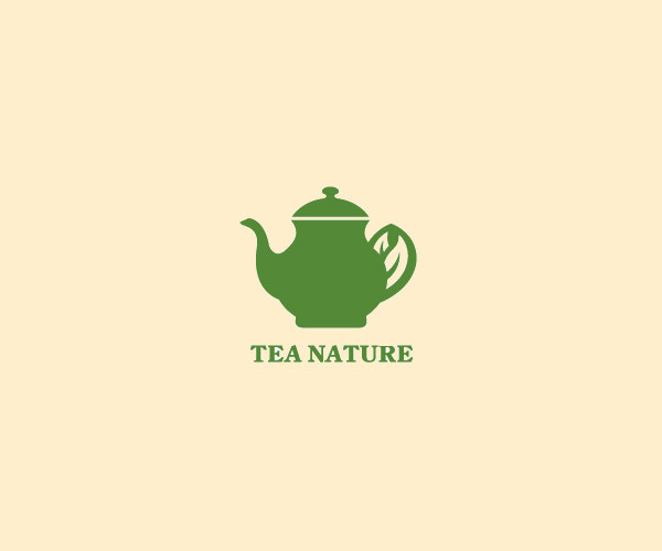 Tea Nature Kettle Logo