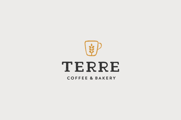 Terre Coffee Cup Logo
