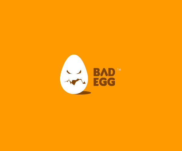Terrific Bad Egg Logo