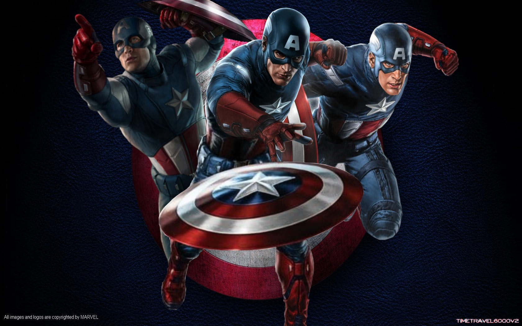 The First Avenger Captain America Wallpaper