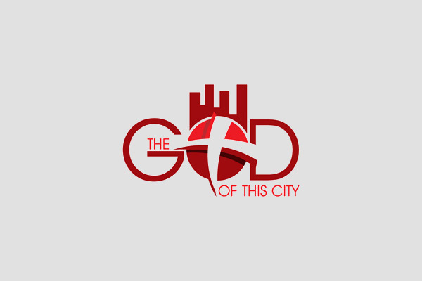 The GOD of this City Logo