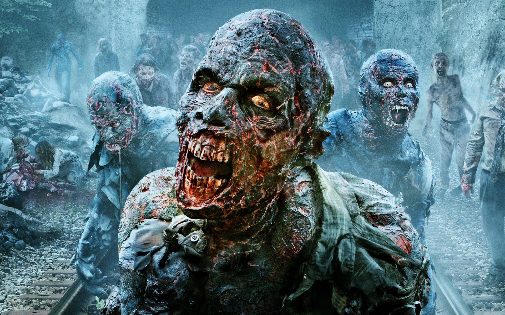 The Walking Dead Creepy Wallpaper