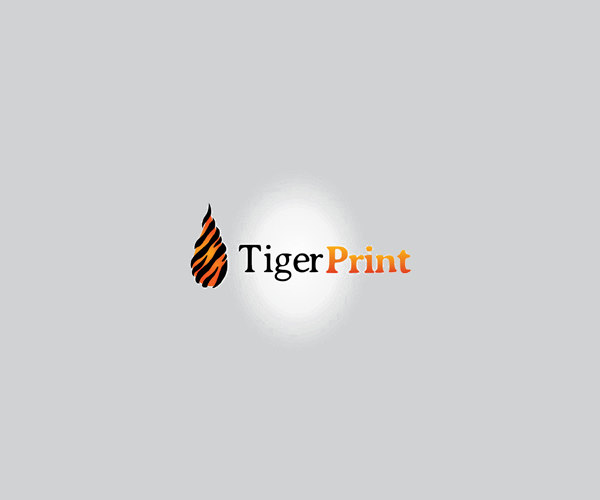 Tiger Smoot Print Logo