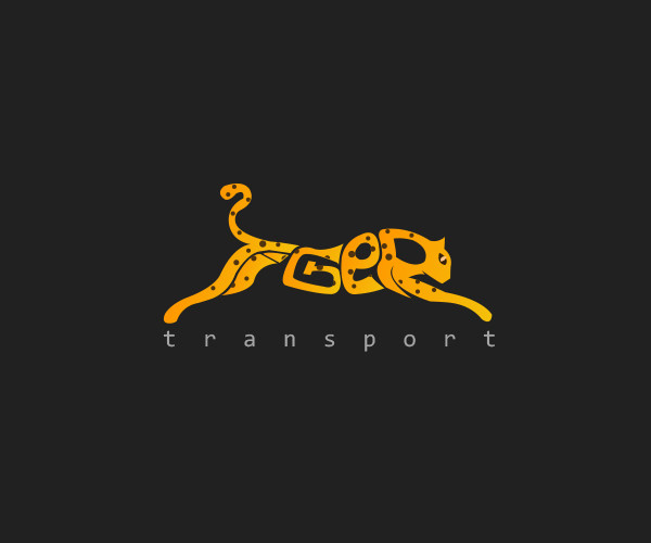 Tiger Transport Logo design