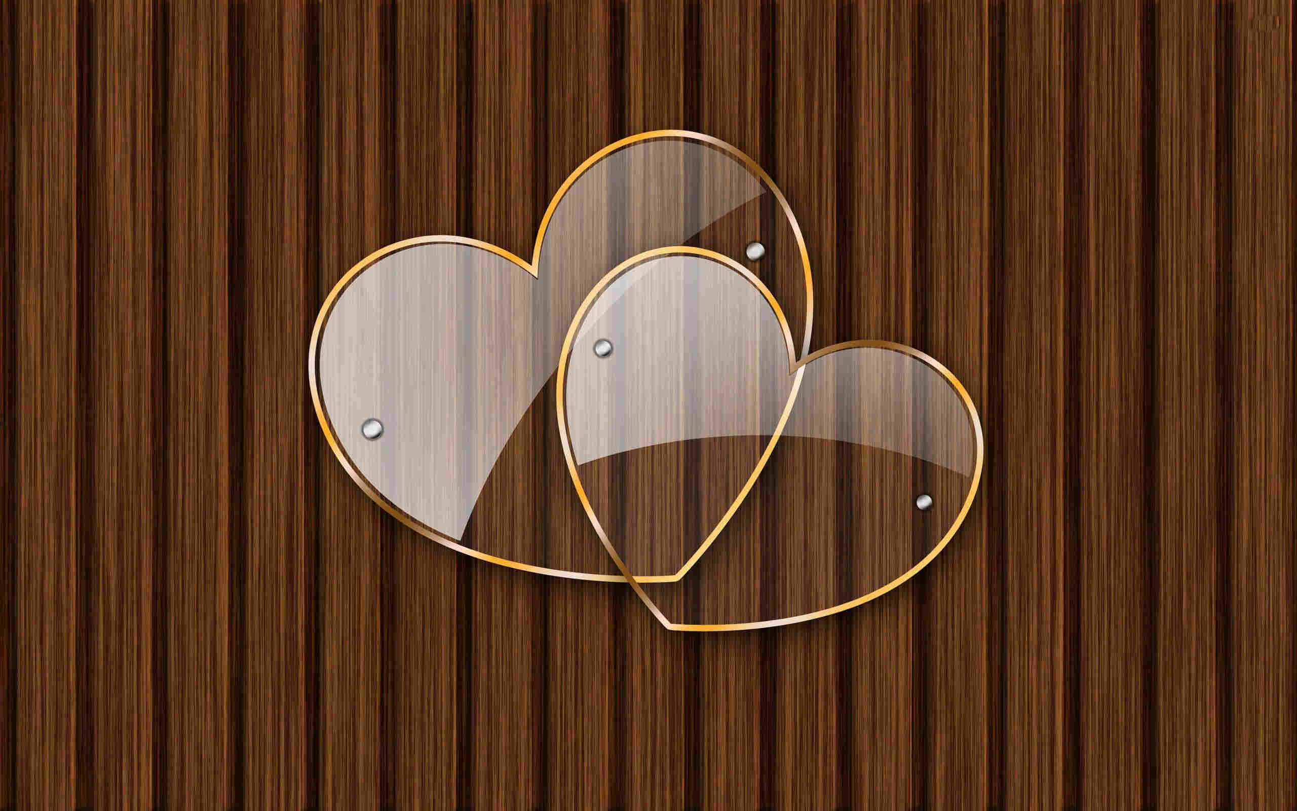 Transparent Heart Wallpaper