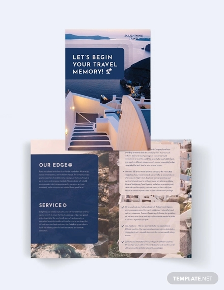 26 Travel Brochures Word Psd Vector Download