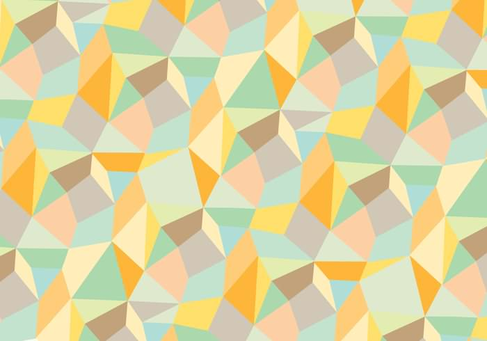 Trendy Abstract Geometric Background