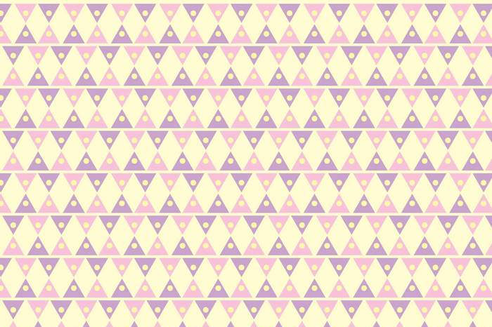 Triangle Girly Pattern