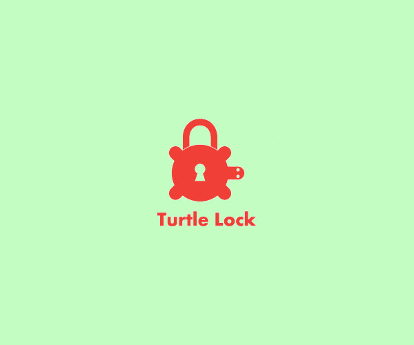 Turtle Sea Lock Logo