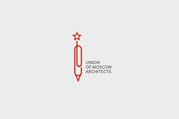 Union of Moscow Architects Star Logo