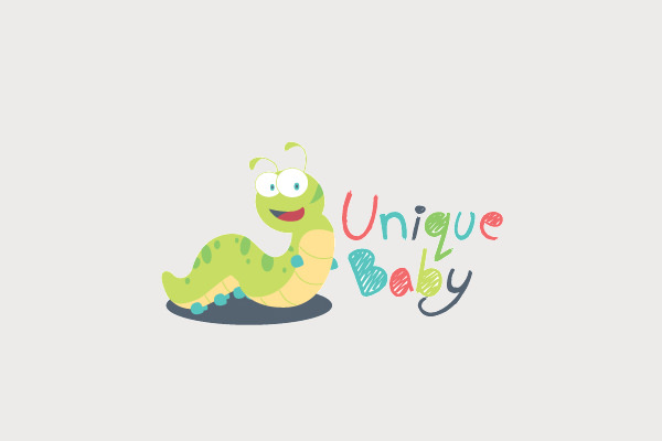 Unique Baby Logo