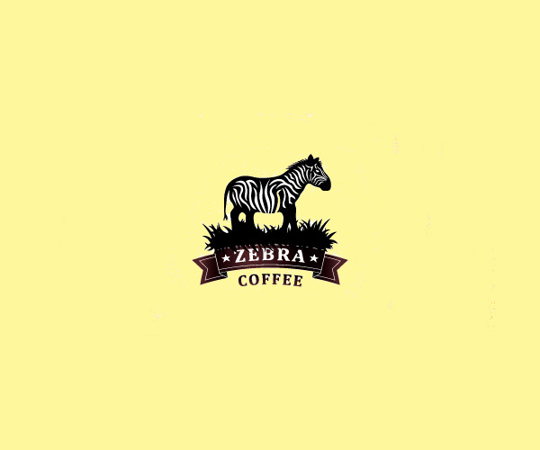 Unique Zebra Coffee logo
