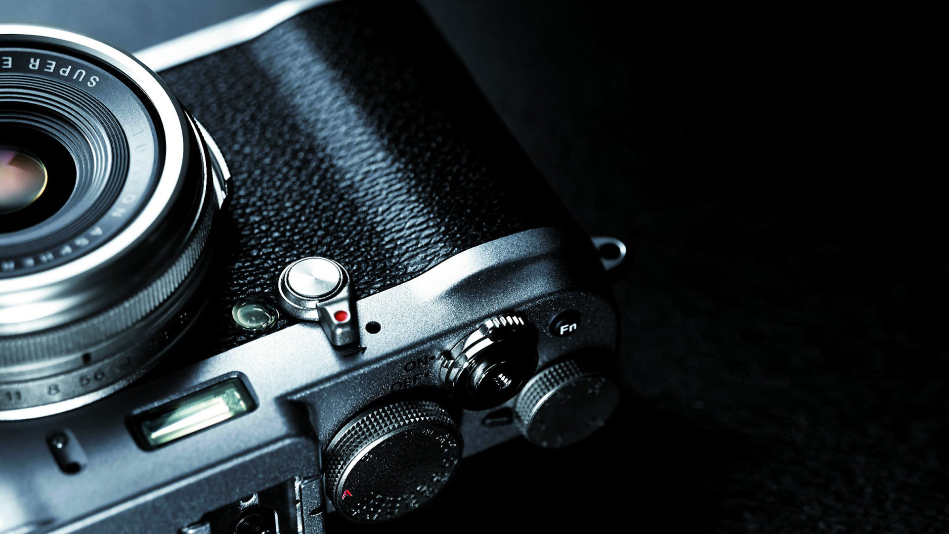 Vintage Fujifilm Camera Wallpaper