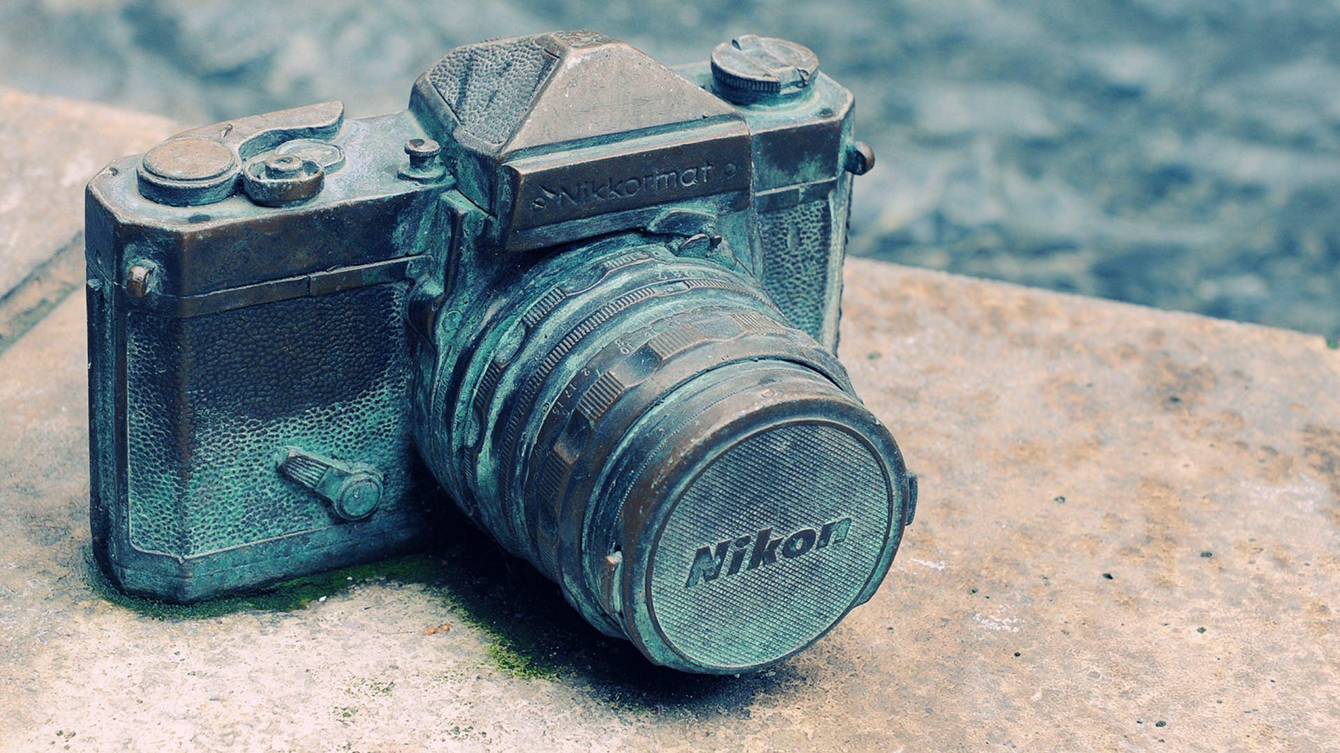 vintage nikon camera wallpaper