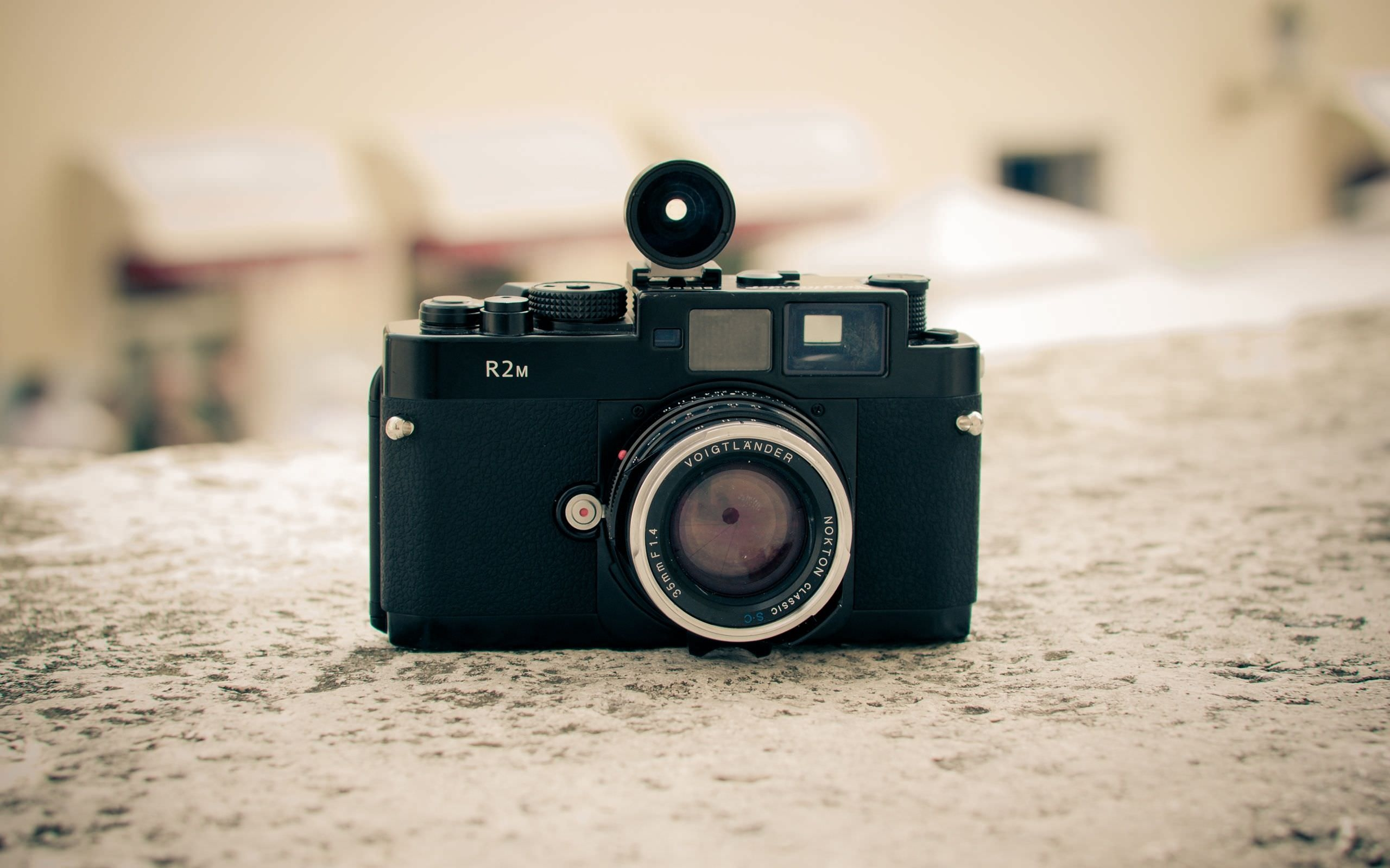Vintage Photography Camera Wallpaper