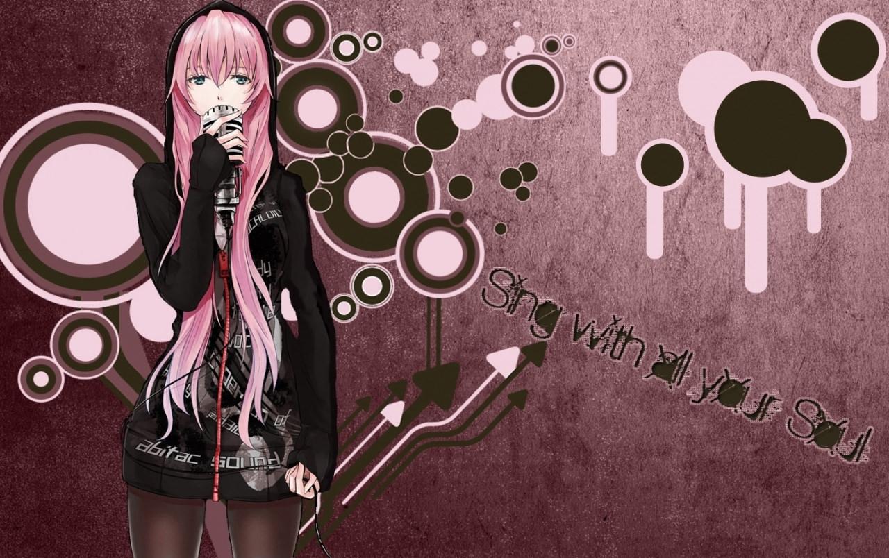 Vocaloid Rock band Wallpaper