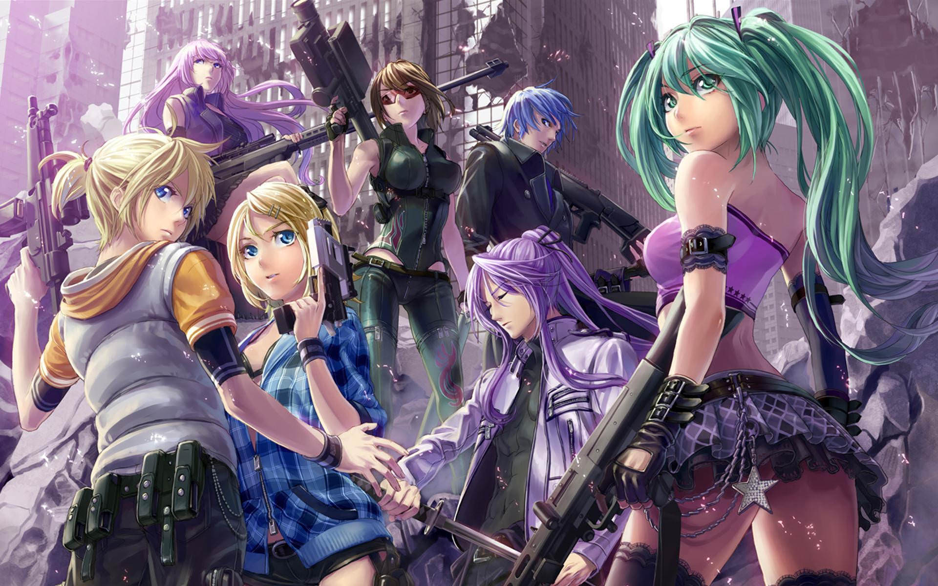 Vocaloid Wallpaper For Free