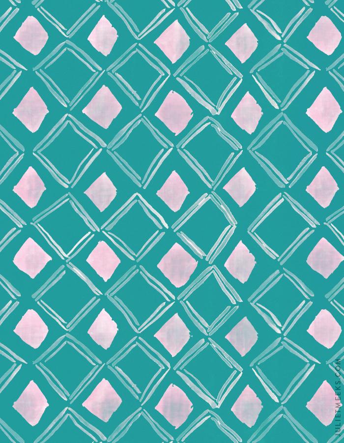 Watercolor Pattern For Desktop