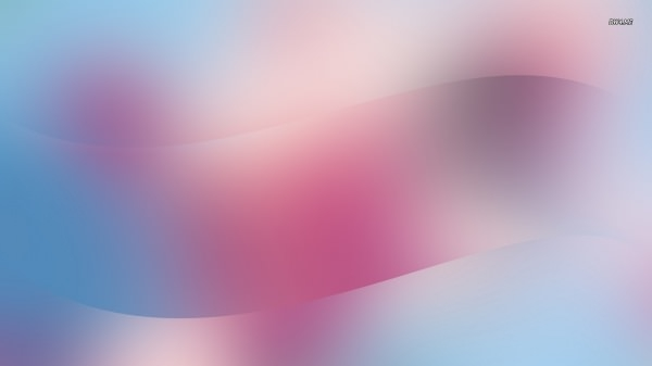 Waves On Purple Gradient Wallpaper