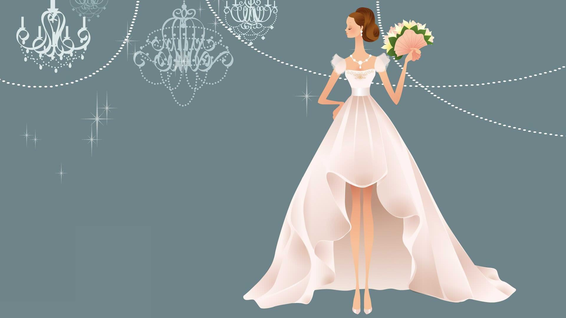 Wedding Bride Background