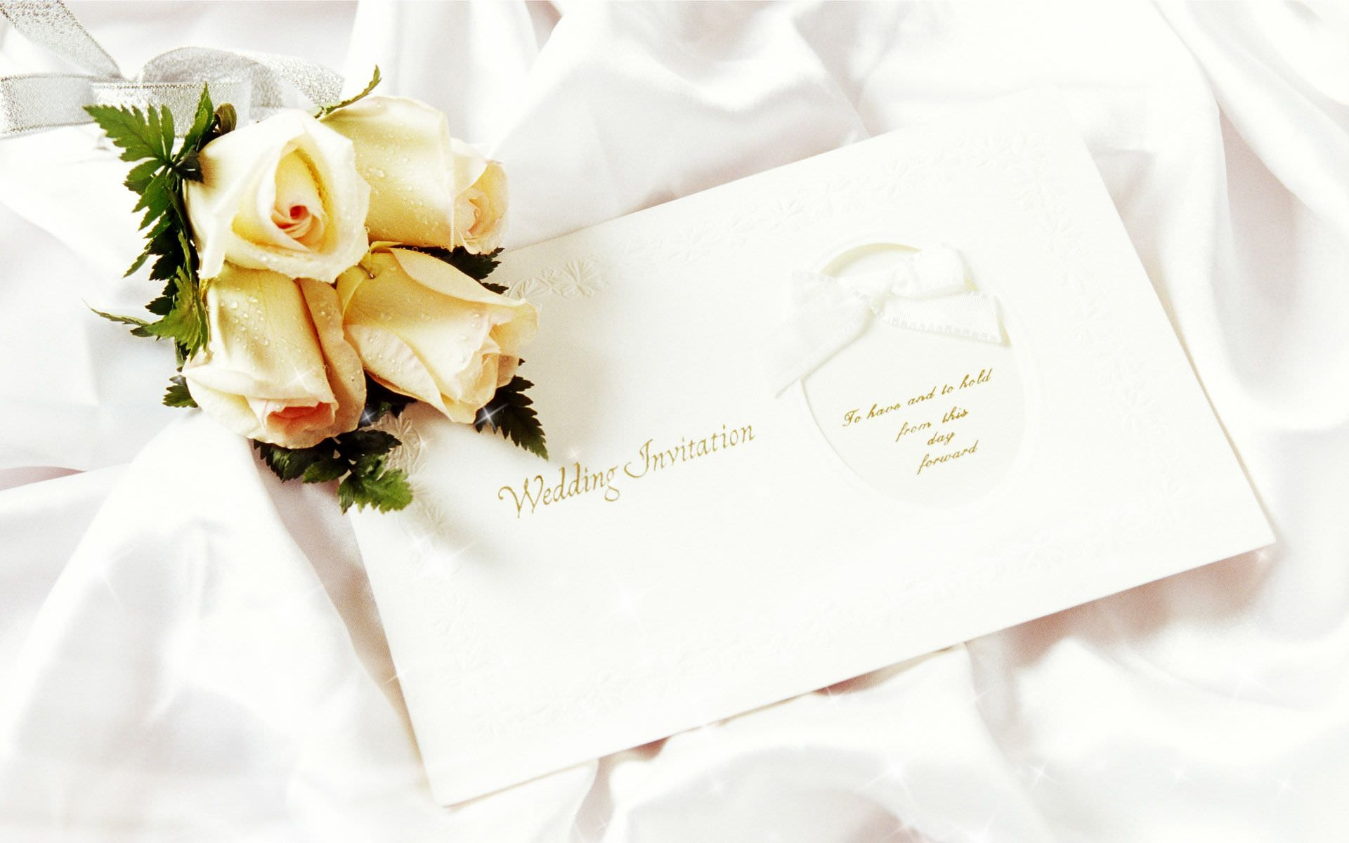 Wedding Invitation Wallpaper