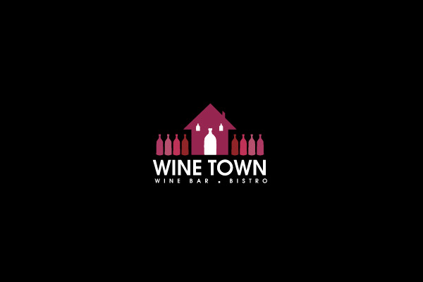 Wine Town Home Logo