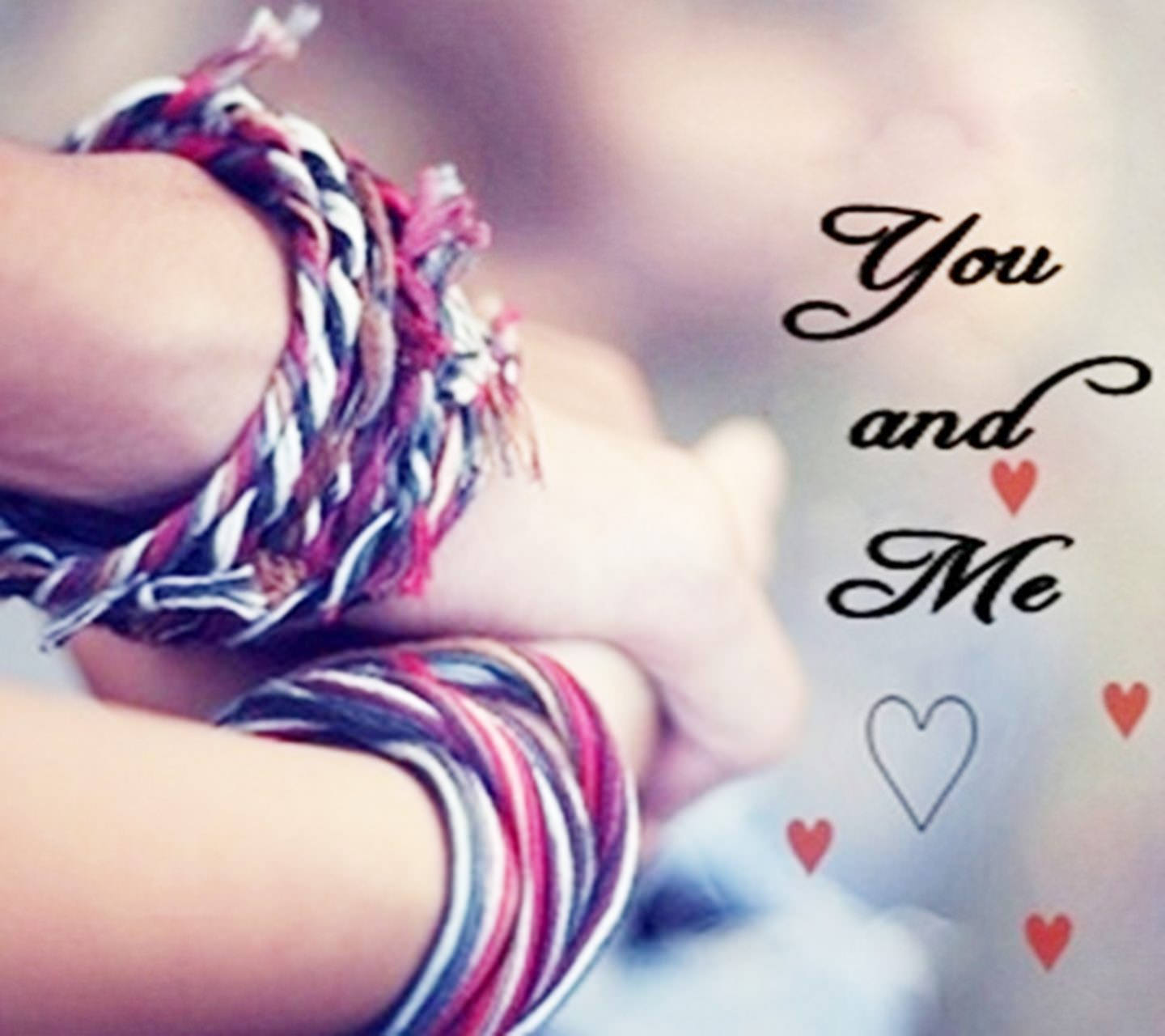 You & Me Love Background