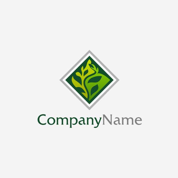 diamond Shaped Environmental Logo