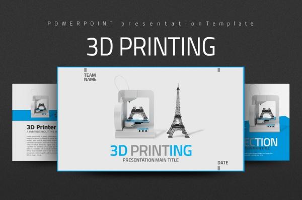 3D Printing Presentation Template