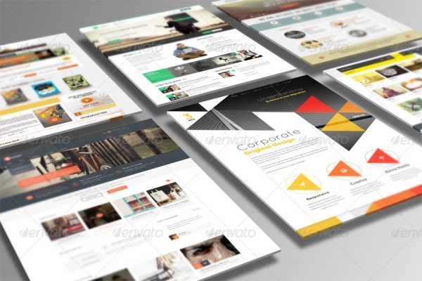 3D Web Presentation Design