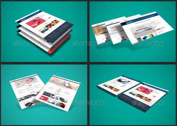 3D Web Presentation Set Bundle