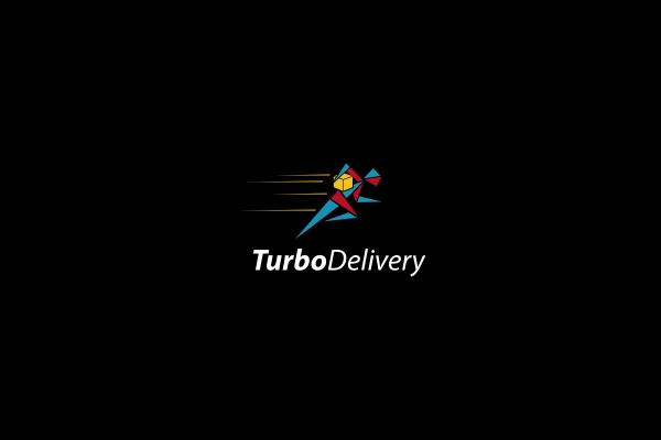 Abstract Turbo Delivery Logo