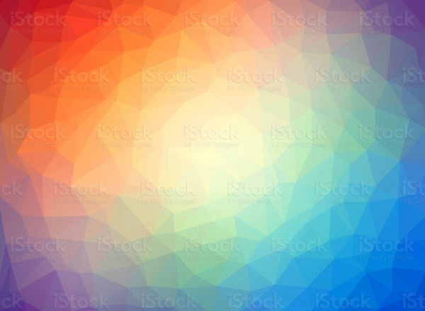 Abstract low poly multicolor background