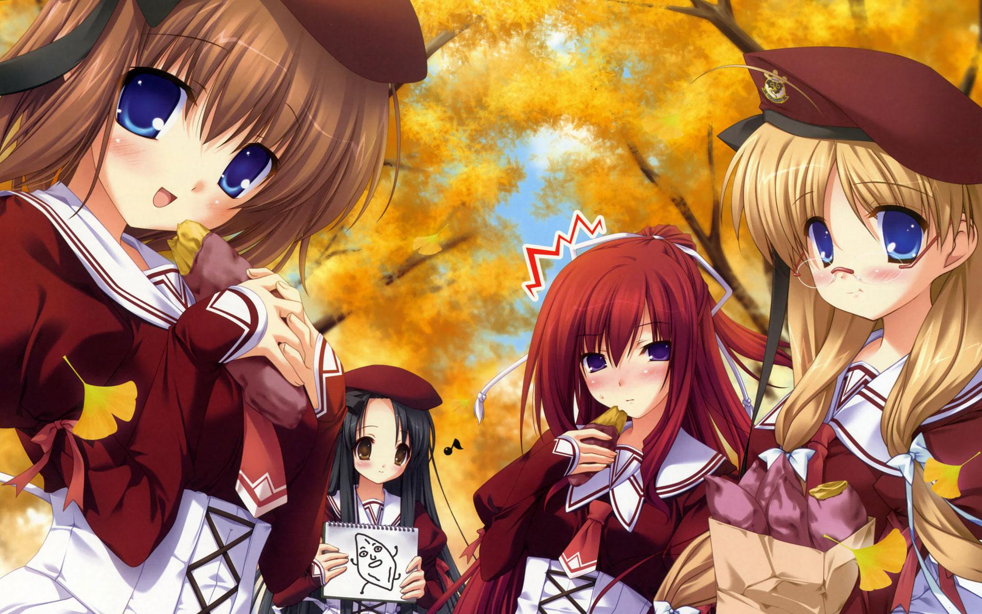 Anime Girls Wide Wallpaper