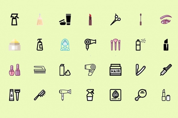 Awesome Beauty Icons For You