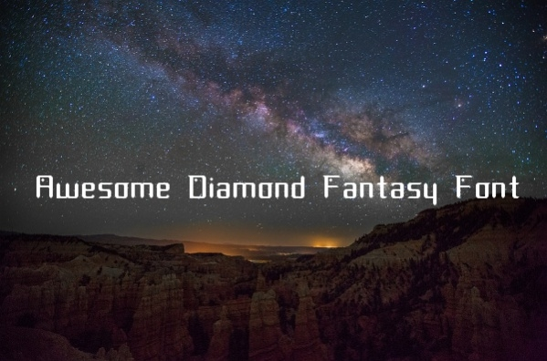 awesome-diamond-fantasy-font