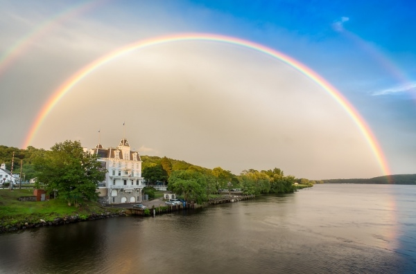 Awesome Double Rainbow Photography