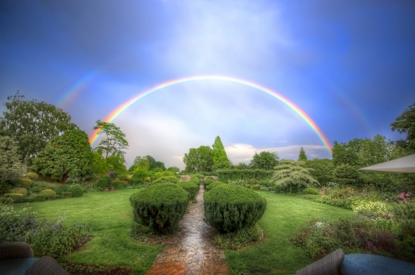 Beautiful Colorful Rainbow Photography