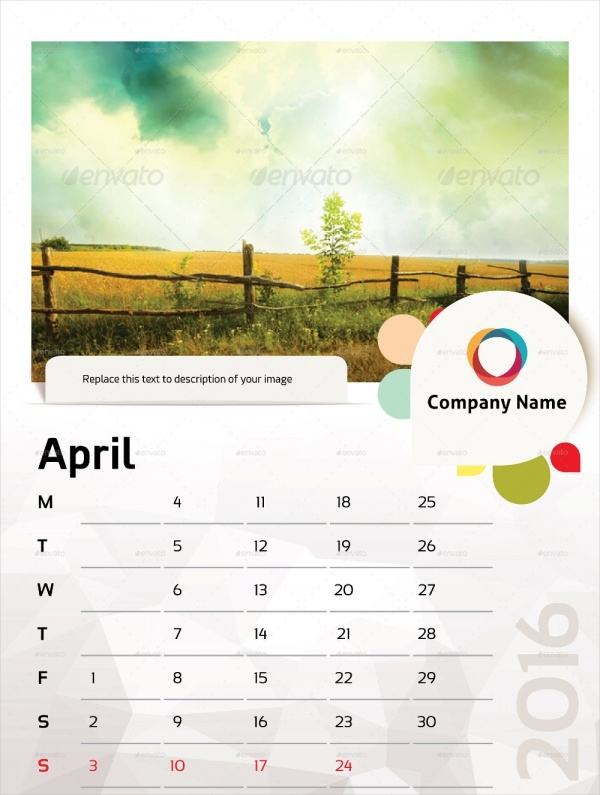 Beautiful Photo Wall Calendar