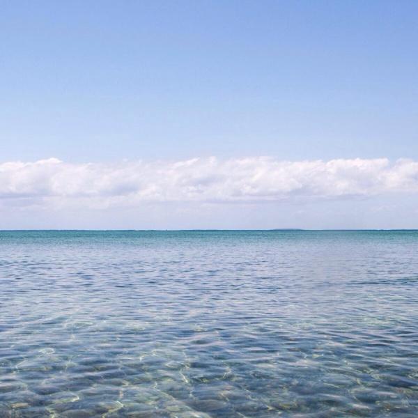 Blue beach and Sky Photography
