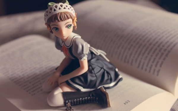 Book Anime Girl Toy