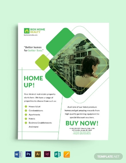 business dealing flyer template