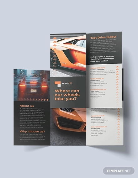 free 32  car brochure designs in psd