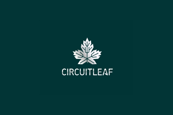 Circuit Clever Leaf Logo