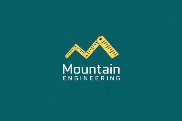 Design Mountains Engineering Logo