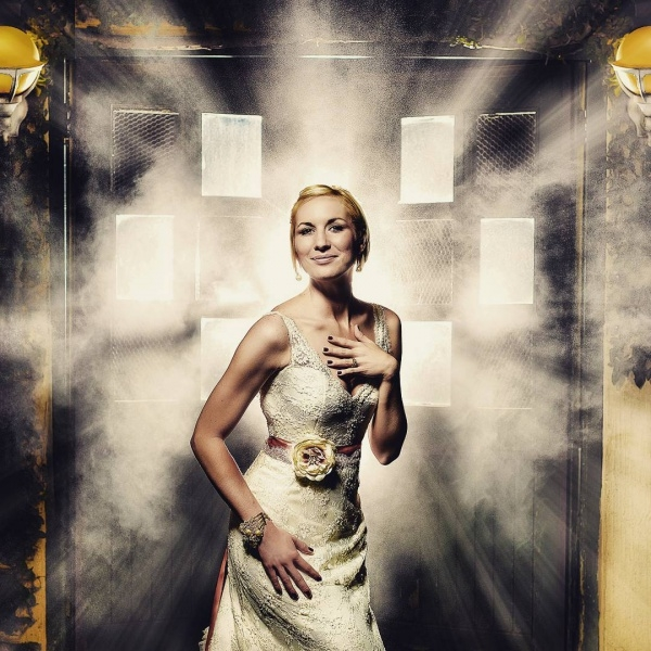 Dramatic Fashion Wedding Photography